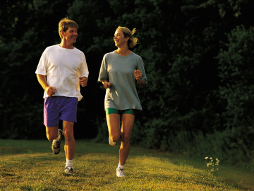 Una pareja de runners
