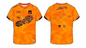 La camiseta de la Carrera Ponle Freno de Madrid