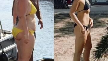 Angelina Denk antes y después