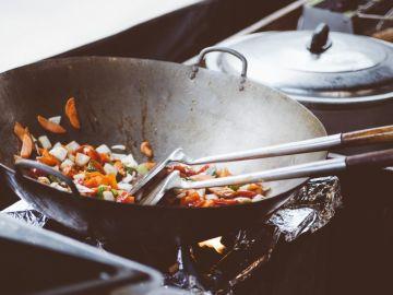 Sano, cómodo y rápido, así es el wok.