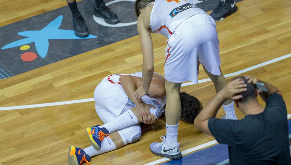Sergio Llull lesionado del ligamento cruzado