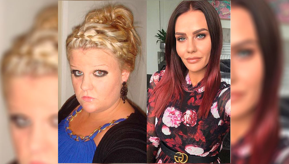 El antes y el después de Simone Anderson