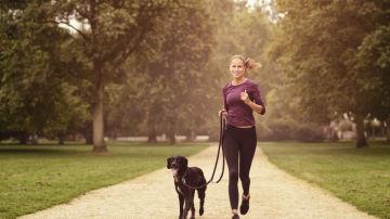 Correr con el perro siempre es una opción