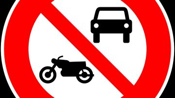Vehículos prohibidos